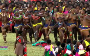 Zulu Reed Dance Ceremony 2013 part 1 Swaziland