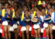 Reed Dance Ceremony 2013 part 3 Swaziland