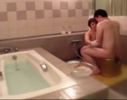 Amazing Girl Sex in the Bath