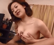 39yr old Japanese Mom Loves a young Cock (Uncensored)