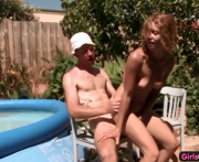 Australian ass drilled by a meaty cock