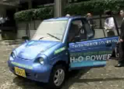 Japanese Water Powered Car! Even Runs on Salt Water!