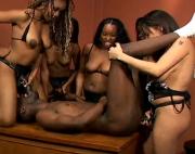 Blackman gets Gang-Raped by Angry Blackwomen