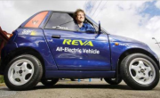 REVA: India's First Electric Car Demo by Chetan Maini