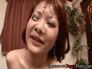 Hinako Yoshikawa Uncensored Japanese Bukkake