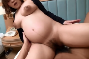 Asian pregnant girl gets sex (uncensored)