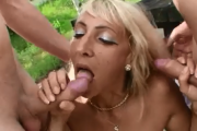 Two Guys pick-up Czech MILF at McDonalds and fuck her in the park