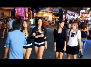 Pattaya Nightlife 2016 Beach Road Girls waiting for Customer