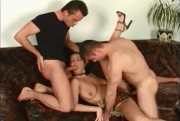 Czech Babe Laura in Threesome