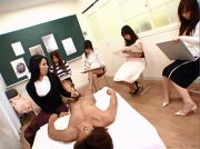 Japanese Art Class CFNM plus more