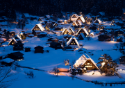 Lovely Village in Deep Snow - Shirakawa-go - Japan