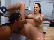Big Boobs Basketball Babe Gianna Michaels Loves It Rough From Behind