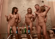 Teenage sexparty the Russian way