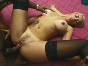 Brazilian Blonde hot fucking
