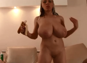 Huge boobs real Arab slut