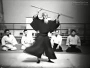 Morihei Ueshiba - Rare Aikido Demonstration (1957)
