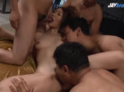 Airi Mizusawa enjoys Japanese cum after a great fuck - Uncensored