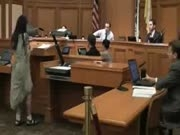 Hippy Chick Strips During Court Case